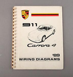 image is loading 1989-porsche-911-carrera-4-wiring-diagrams-shop-