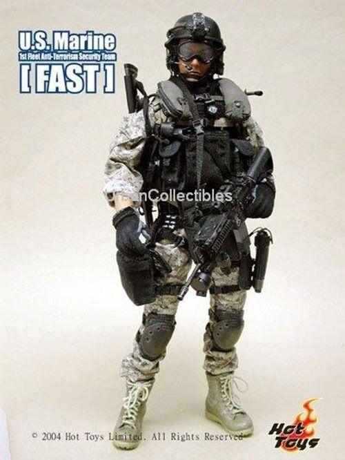 Hot Toys Us Marine rápido 1st Platoon