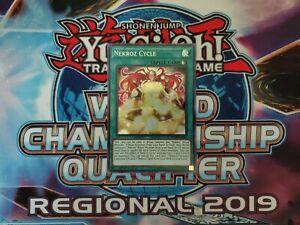 BLHR-EN086 Nekroz Cycle Secret Rare 1st Edition Mint YuGiOh Card