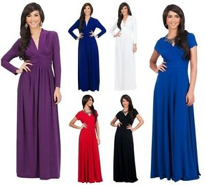 Evening-Dress-Wedding-Party-Maxi-Plus-Size-Full-Length-AU-8-26-Maternity-0A