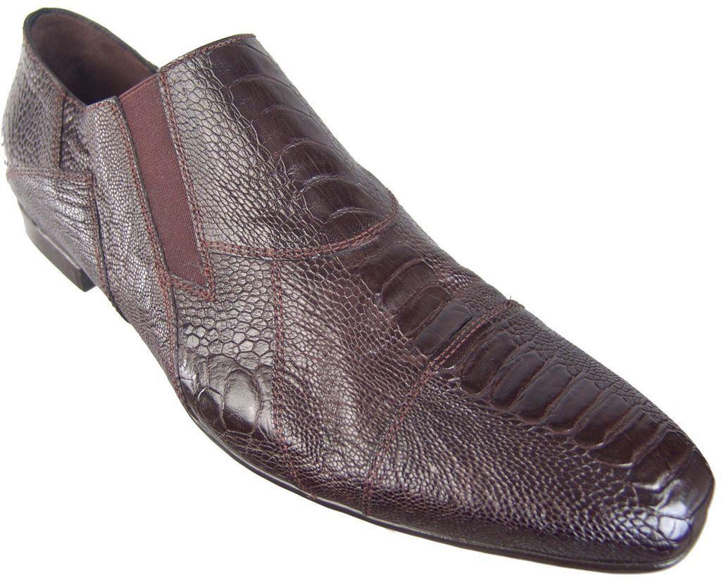 con il 60% di sconto  1200 CESARE PACIOTTI US 7.5 GENUINE OSTRICH SKIN LOAFERS LOAFERS LOAFERS ITALIAN DESIGNER scarpe  fino al 50% di sconto