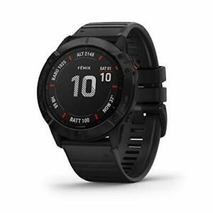 Garmin Fenix 6X Pro, Premium Multisport GPS Watch, Black