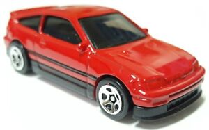 Hot Wheels 88 Honda Civic CR-X CRX Black