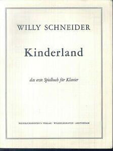 Willy-Schneider-Kinderland-das-erste-Spielbuch-fuer-Klavier