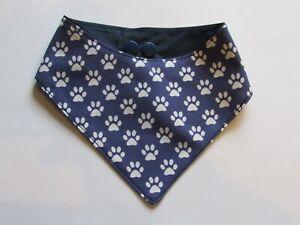 100-Baumwolle-Hundehalstuch-XS-S-Halsumfang-26-29-cm-Handarbeit