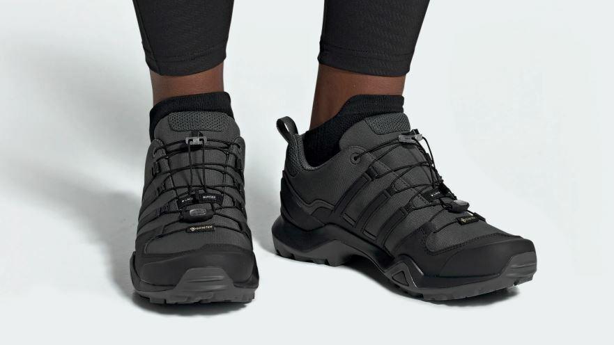 Adidas Terrex Swift R Gore-Tex bc0383 caballeros calzado deportivo senderismo Trail gris hit