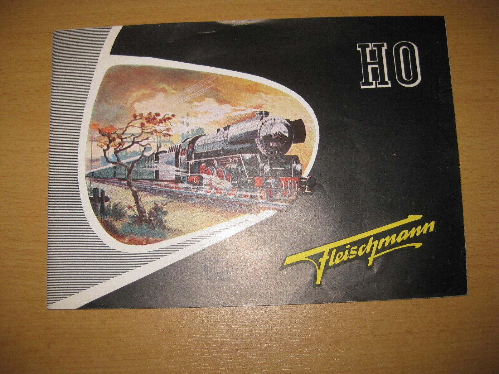 Fleischmann Katalog 1950  R568  | Haltbarkeit