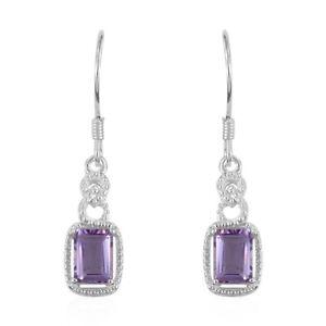 Amethyst-Garnet-Topaz-925-Sterling-Silver-Dangle-Drop-Earrings-for-Women-Jewelry