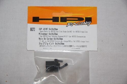 86272 HPI RACING  Noix de Cadran cup joint  6 X 14 X 20 mm