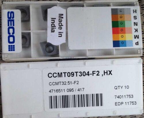 F2  HX 10pcs TOOLS CCMT09T304