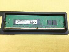Pulled * MTA9ASF51272PZ-2G1 Micron 4GB PC4-17000P-R DDR4-2133 RDIMM Memory