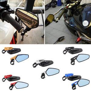 Specchietti-retrovisori-laterali-per-manubrio-da-8-034-22mm-universali-in-alluminio