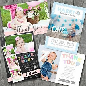 Personalised-Birthday-Thank-You-Card-Boy-Girl-Photo-First