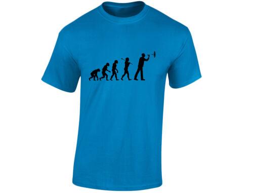 12 Colours Darts Evo Evolution Mens Funny T-Shirt