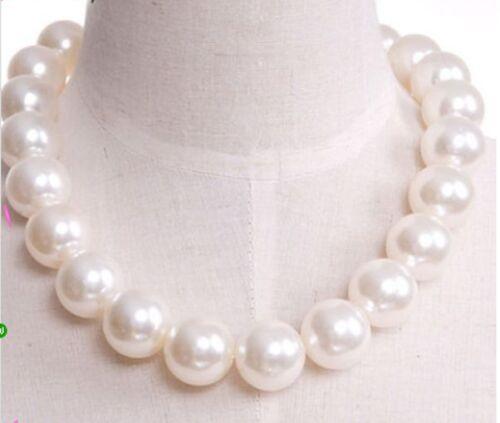 wholesale fashion Short big pearl necklace  20mm 1pcs