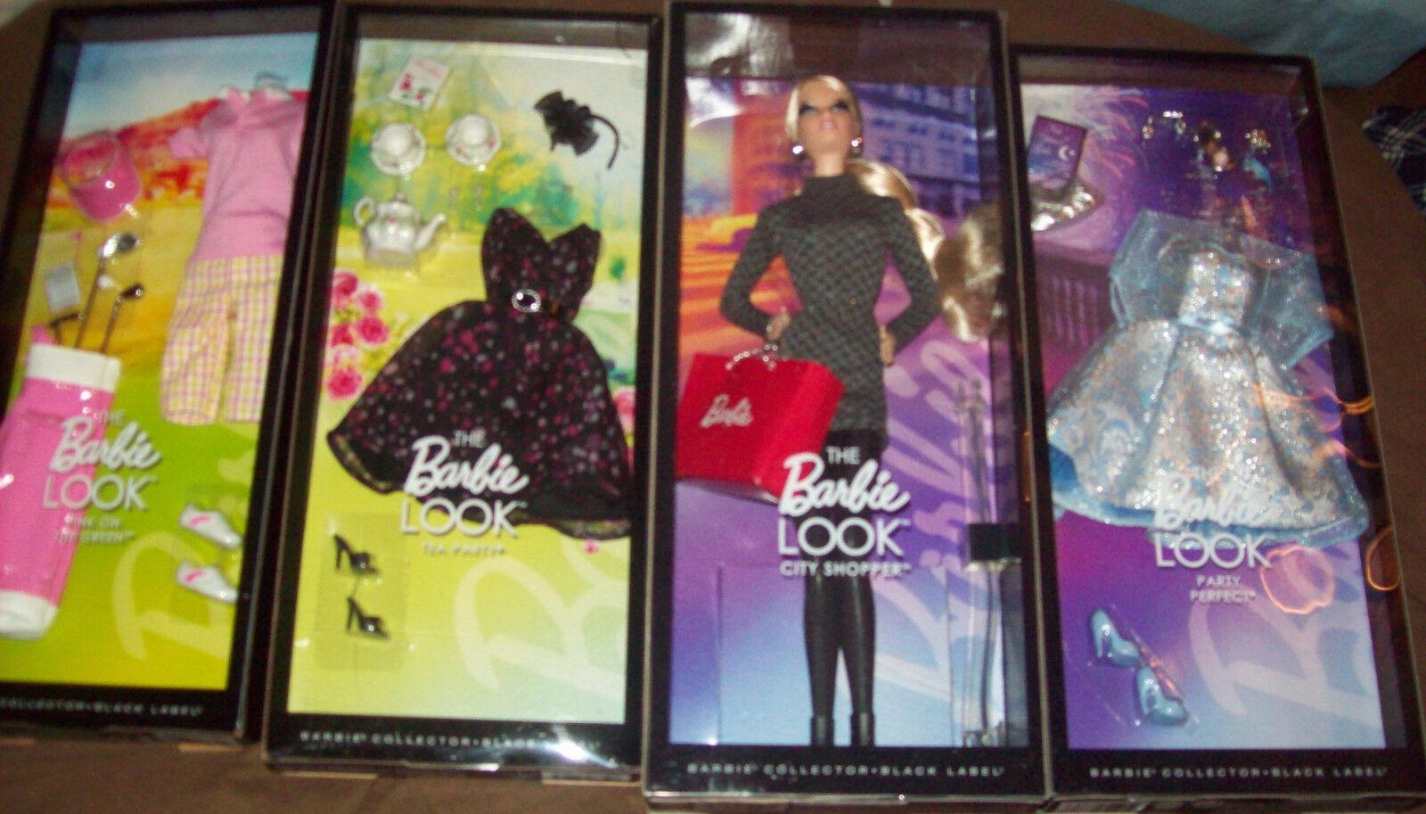 La muñeca Barbie Look City Shopper, Armario & 3 Barbie Look Fashions  Nuevo