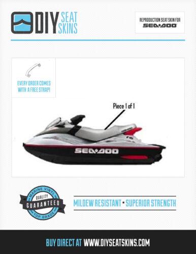 RX DI GSX GSI HX SP XP SPX SEA DOO SILVER Seat Skin Cover 91 92 93 94 95 96 97+