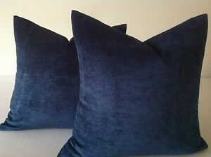 Image is loading Blue-Pillows-Decorative-throw-pillow-cover-Cushion-Designer - ced06db83f52