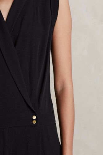 Jumpsuit By New Chanteuse 8 Black 148 Sz Anthropologie Elevenses OwWAqHWa
