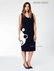 5b532ea3d161f 🌷MARINA RINALDI by MAX MARA Cady Dress PLUS size MR 21 USA W 12 I ...
