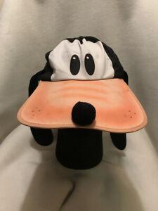 Vintage Goofy Disney Character Fashions Long Bill Adult Snapback Hat Made In Usa Ebay