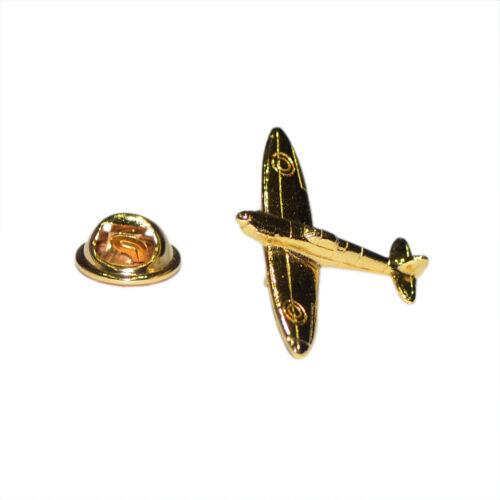 Golden Spitfire Regalos para ellos Insignia Pin de Solapa