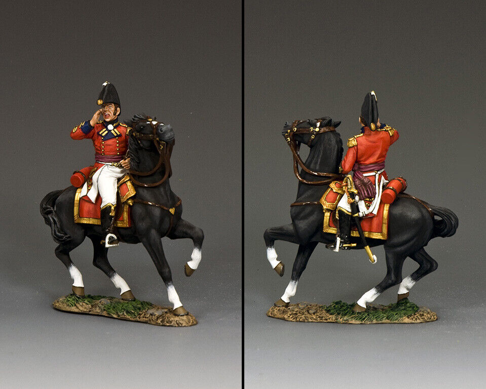 King & Land The Age Of Napoleon Na417 Britisch Colonel Of The Regiment MIB  | Verschiedene aktuelle Designs