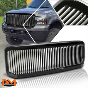 Compatible with Ford F250-F550 SD//Excursion 99-07 Bumper Brush Grille Guard Protector Black