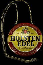 Holsten Pilsener Bier Brauerei, Zapfhahnschild, Schild, Tresen, Zapfanlage,