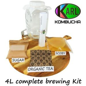 4L-Kombucha-Scoby-Complete-Starter-Kit-with-4-Litre-glass-Jar-Dispenser-BPA-FREE