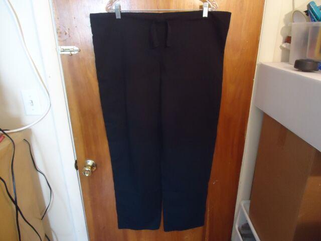Cherokee Size M Black Scrubs Pants