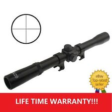 D03 4X 20mm Telescopic Rifle Scope Sight Crossbows Airsoft Air Rifles Hunting