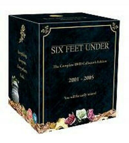 SIX FEET UNDER the complete series 1 2 3 4 & 5 deluxe box set edition. New DVD.