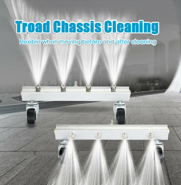 Car Chassis Water Spray Wash 4 Nozzle Under Body Washing ...