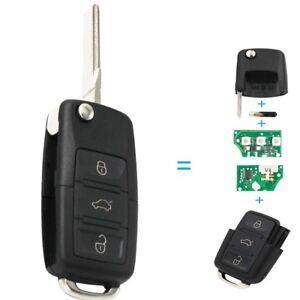fuer-VW-SEAT-SKODA-Auto-Schluessel-Platine-1K0959753G-433-MHz-Chip-ID48-VRK02G