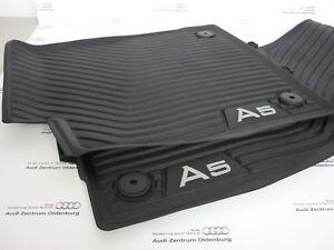 Design 3D TPE Fußraumschalen Fussmatten für Audi A5 F5 Sportback Coupe 2016