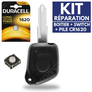 KIT-Reparation-Coque-Telecommande-Plip-Boitier-pour-Cle-PEUGEOT-106-206-306-406