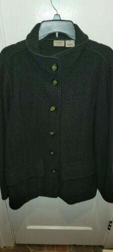Women's Vintage LL Bean Wool Coat  Size 1X