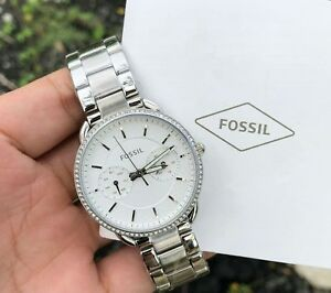 Authentic-Original-Fossil-ES4262-Analog-silver-ladies-womens-watch