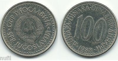 Yugoslavia set of 6 coins 1993 1+2+5+10+50+100 dinars UNC KM# 154-159