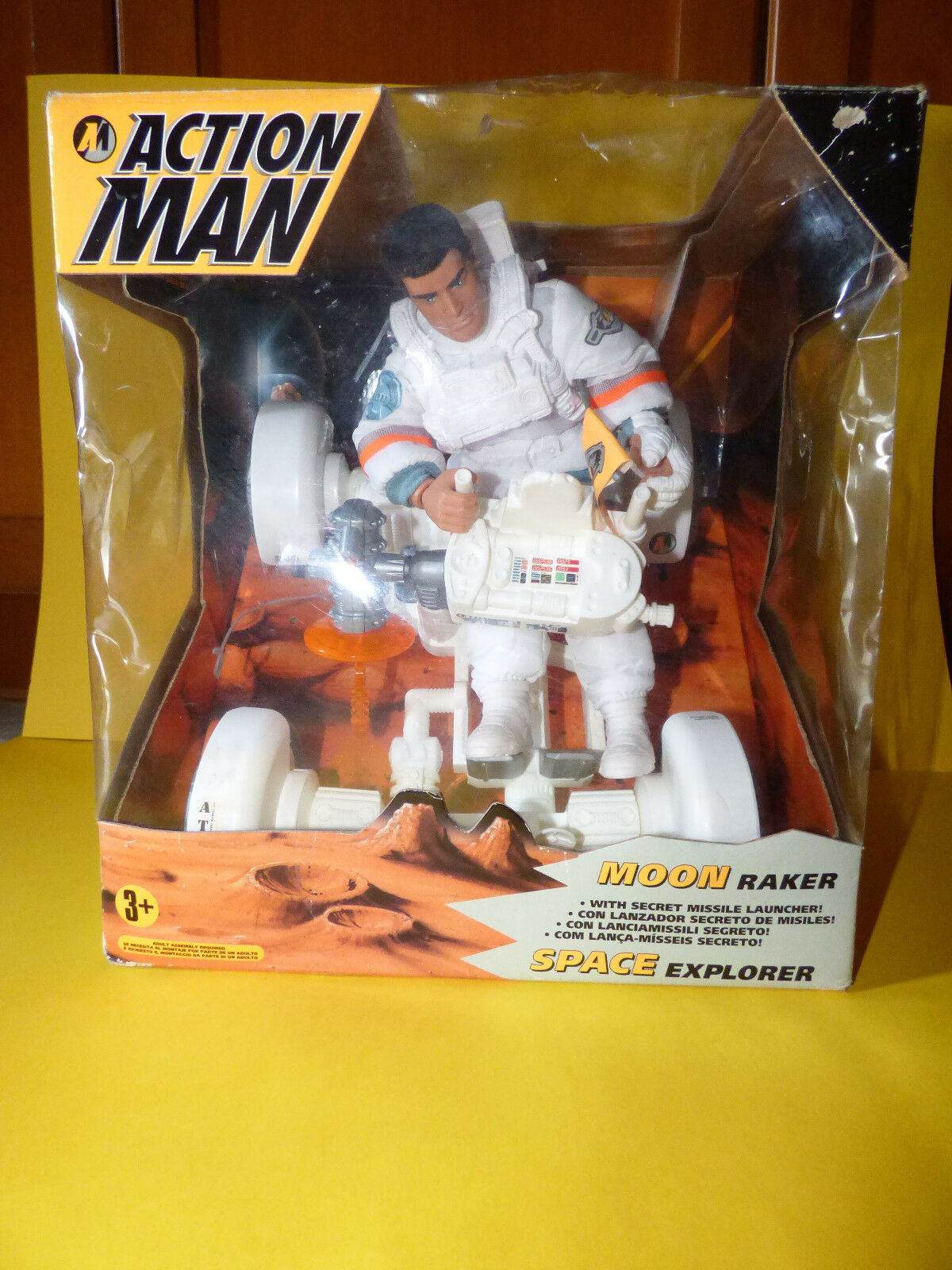 Hasbro Action Man Moon Raker Figure & Vehicle - - - Rare 220d2f