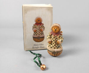 Boyds-Uncle-Bean-039-s-Treasure-Boxes-Abner-Elfin-Kringle-Klaus