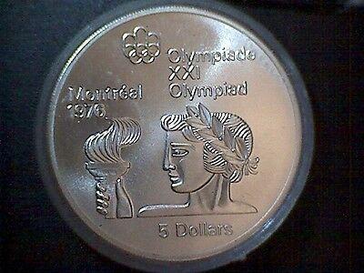 Kanada 28 Olympia Silbermünzen Montreal 1976 Silber Collection On