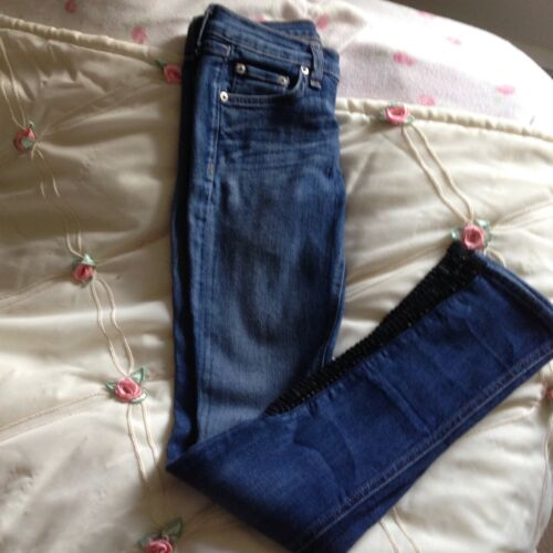 Bone Flettet Rag Jeans Skinny Leather 26 xq01vwvAFd