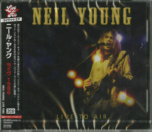 Neil-YOUNG-Live-to-air-Giappone-2-CD-f83