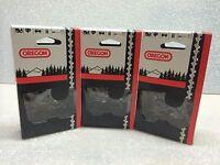 3 Loops Oregon 91vxl056g Chainsaw Chain 16 3/8 Lp .050 S56