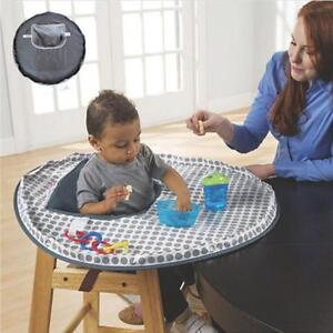 1481ca161 Baby Eating Table Mat Feeding Saucer High Chair Cover Germ Prevents ...