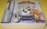 Tom And Jerry: The Magic Ring (game Boy Advance) Sealed H-seam