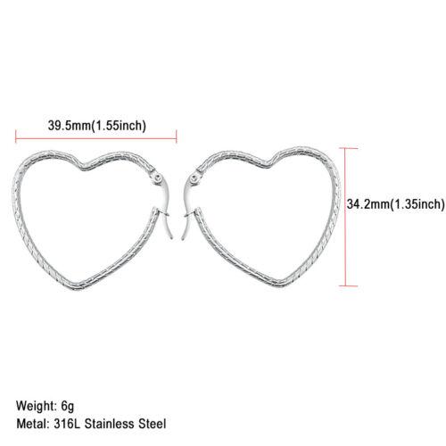 316 L acier inoxydable 18K plaqué or femme oreille Creoles Fashion Jewelry