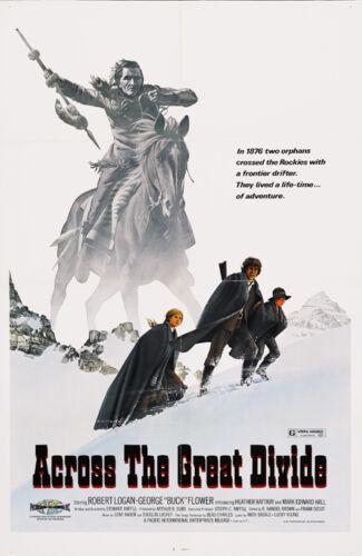Across the great divide Robert Logan movie poster